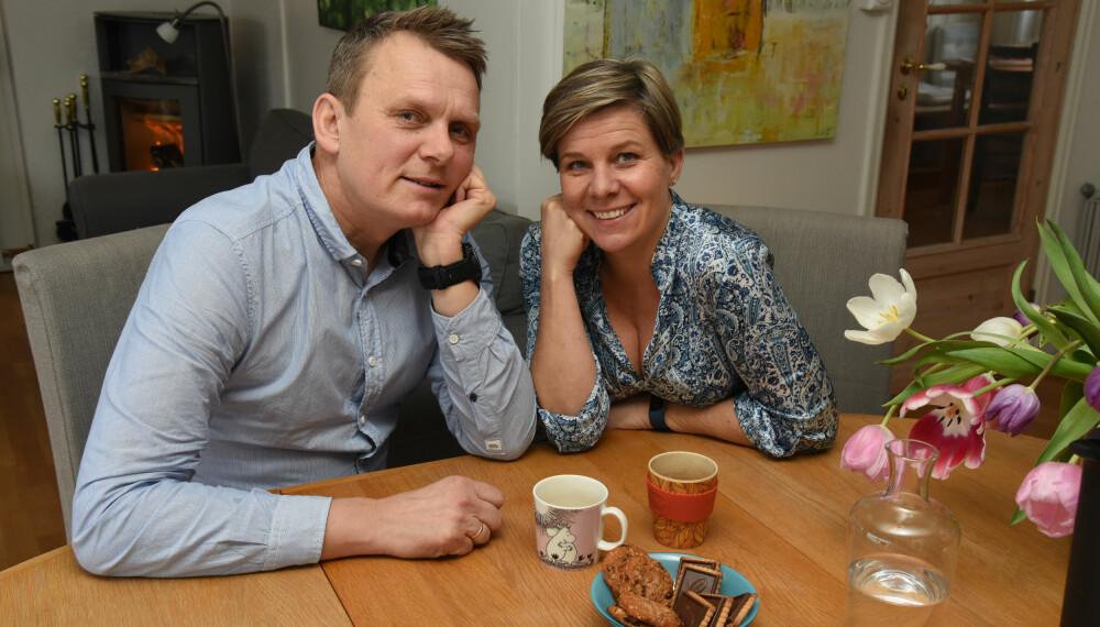SAMMEN: De står sammen i alt som skjer, Kikki og Kjetil.