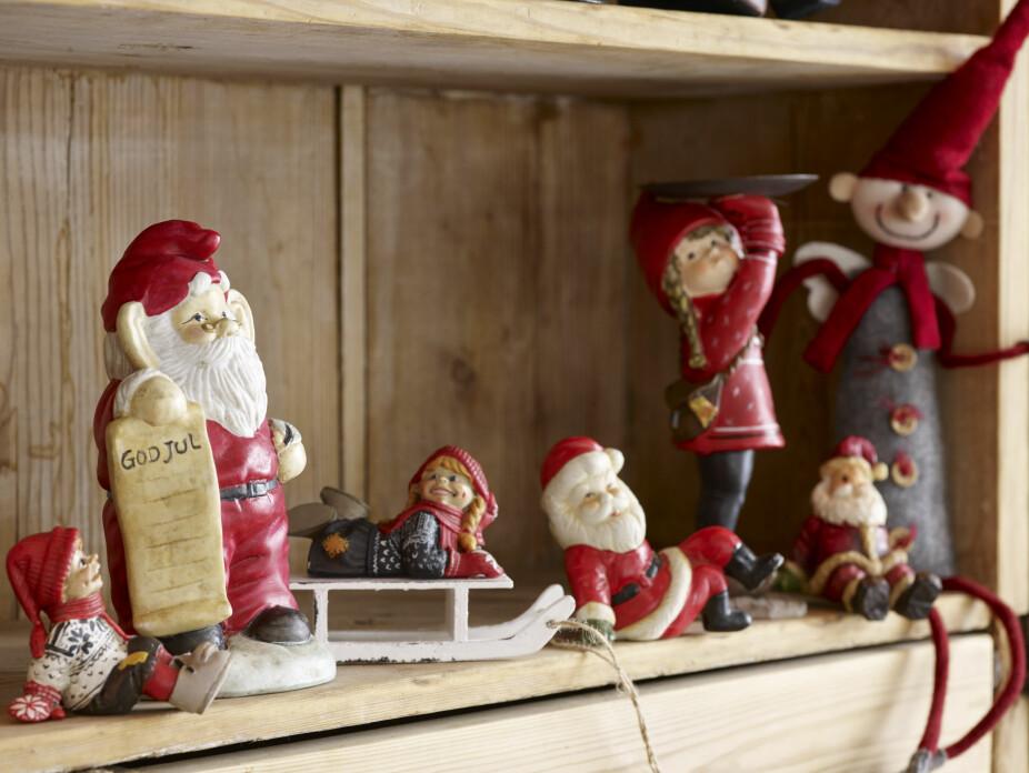 Julesteming. Det er på hytta at Synnøve pynter til jul.