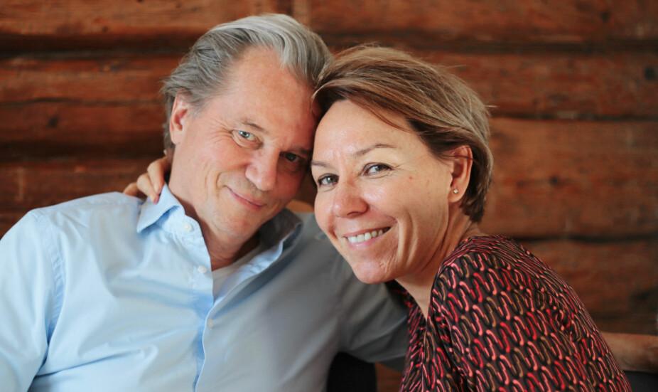 EKTESKAPSRÅD: Nina og Sigmund Sontum er begge samlivsterapeuter. Etter mange turbulente år klarte de endelig å forstå hverandre, og kommunisere hva de trenger. Det har gitt et nært og levende forhold de begge elsker å være i.