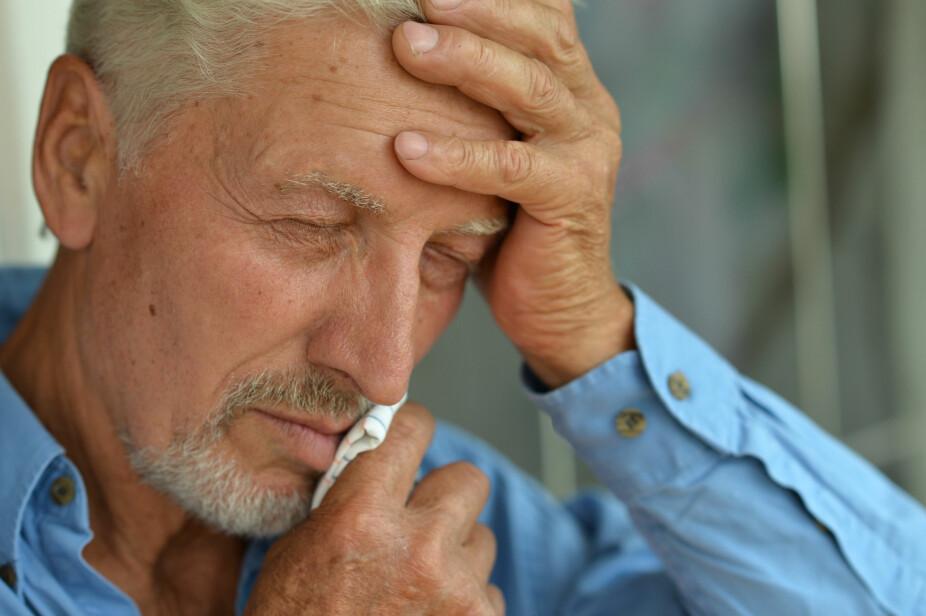 ALS SYMPTOMER: De første symptomene på ALS er ofte gradvis økende svekkelse i en arm, et bein eller utydelig tale