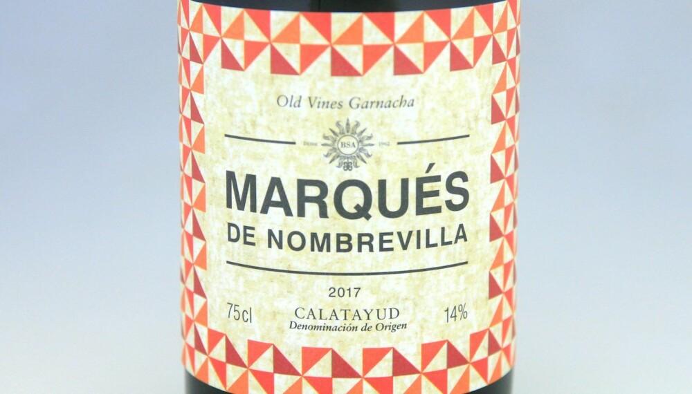 GODT KJØP: Marqués de Nombrevilla Old Vines Garnacha 2017.