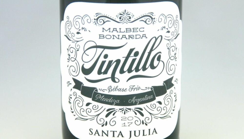 GODT KJØP: Santa Julia Tintillo Malbec Bonarda 2017.