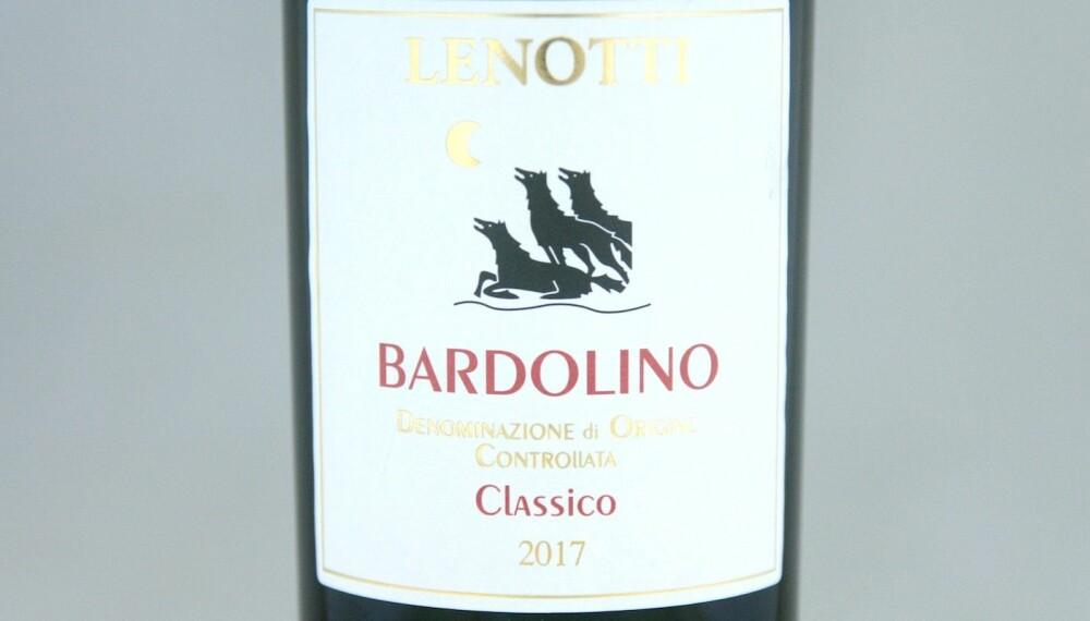 GODT KJØP: Lenotti Bardolino Classico 2017.