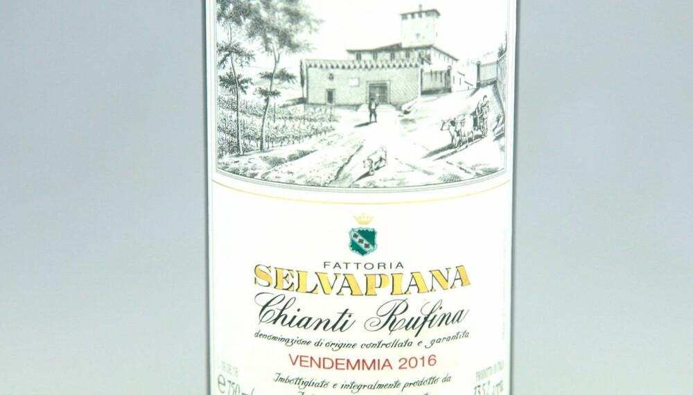 TIL SVINERIBBE: Selvapiana Chianti Rufina 2016.