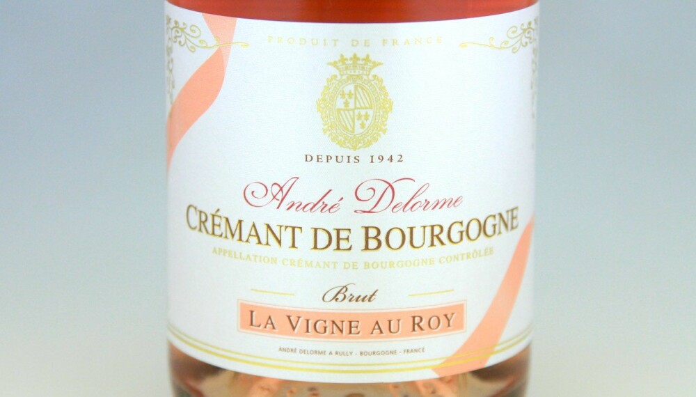 GODT KJØP: Delorme Crémant de Bourgogne Rosé Brut.