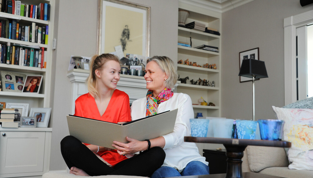 LIKEMANN: Inge er likemann i LHL Hjerneslag for pårørende og barn og unge. Hun er tilgjengelig for råd og hjelp til andre som kommer i samme situasjon som Ida og henne.