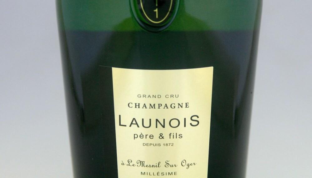 GODT KJØP: Launois Grand Cru Blanc de Blancs Brut 2011.