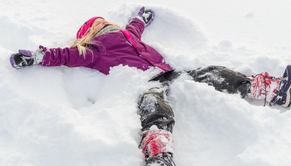 Vinteraktiviteter for barn.