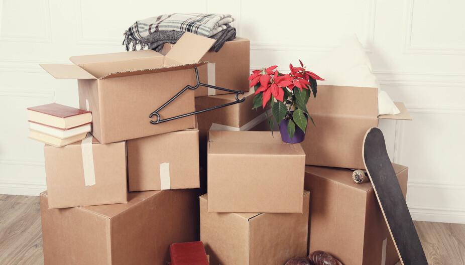 FLYTTETIPS: Å flytte fra hjemmet kan medføre en del kostnader. Skal du bruke flyttebyrå, må du lage en god avtale. Dette bør du tenke på hvis du skal flytte.