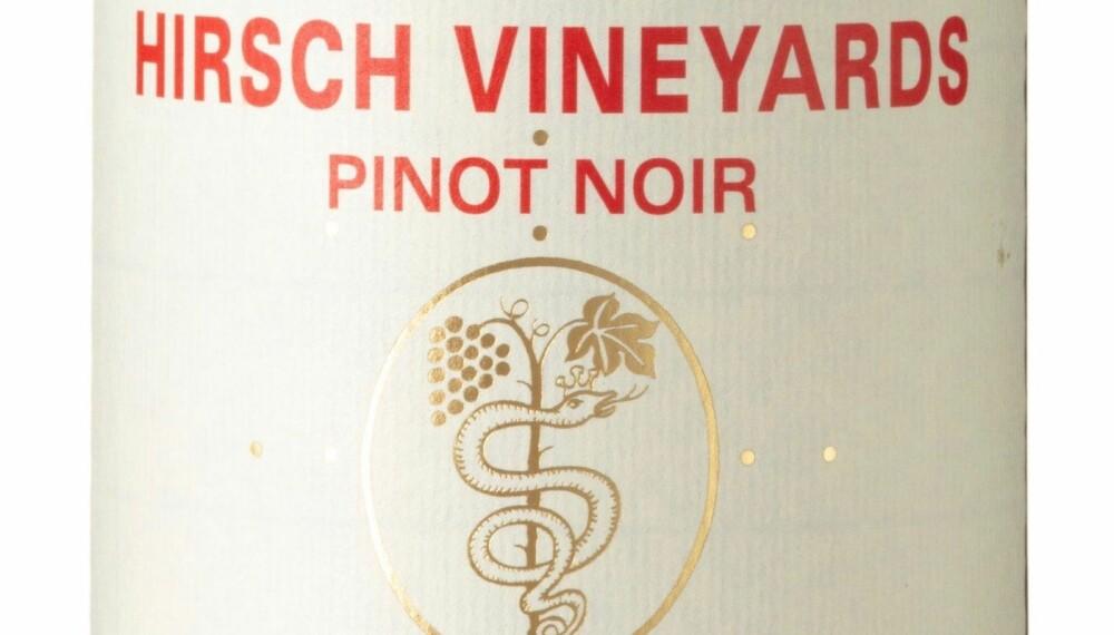 GODT KJØP: Hirsch Vineyards San Andreas Fault 2016.