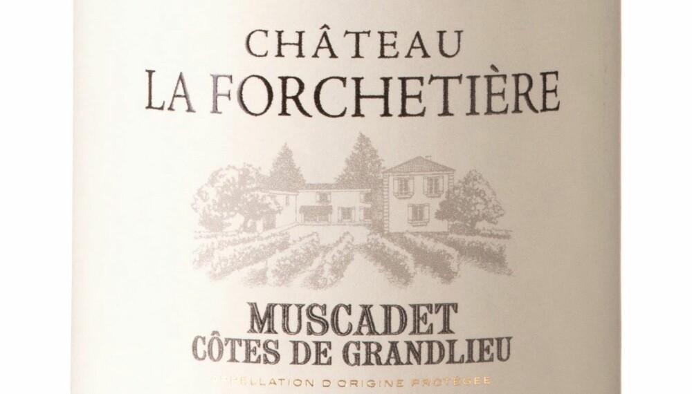 GODT KJØP: Ch. Forchetiere Muscadet Côtes GrandLieu 2017.