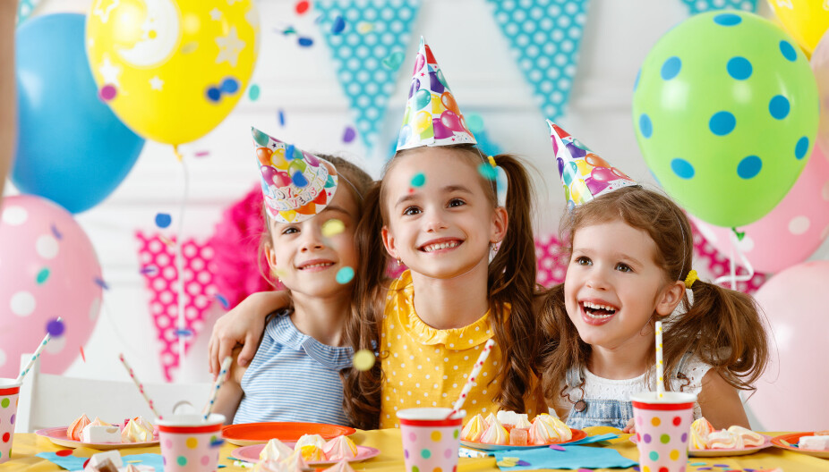 STOR STAS: Barnebursdag er gjerne et høydepunkt for både bursdagsbarn og gjester