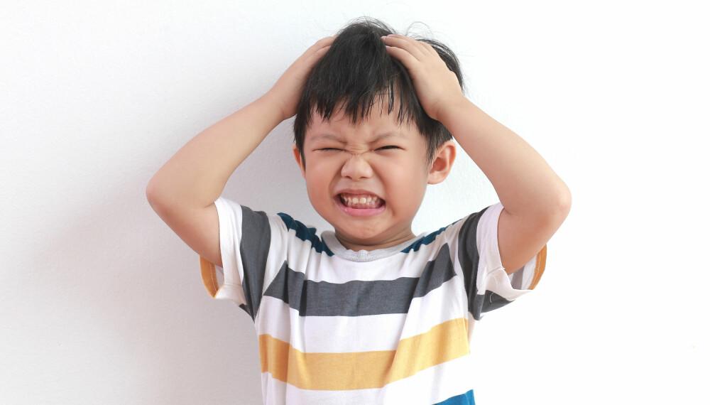 f8d437b4 VANSKELIG Å TAKLE: Et sint barn har også selv problemer med å takle  følelsene sine