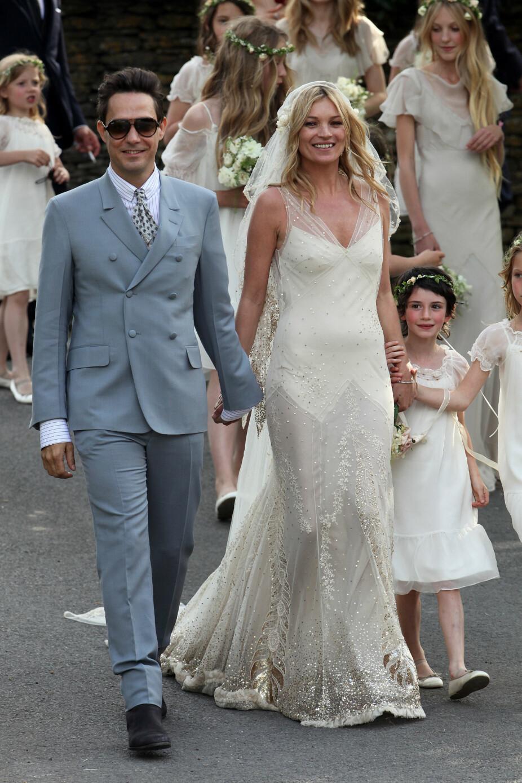 Kate Moss og Jamie Hince.