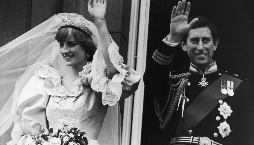 Prinsesse Diana og prins Charles.