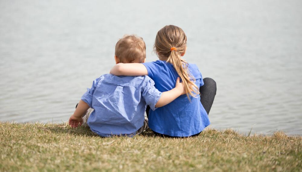 IKKE ALLTID LETT: Å ha søsken er fantastisk, men kan også være vanskelig for små barn.