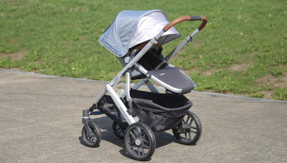 UPPABABY VISTA: Dette er vognen for familier med stort transportbehov.