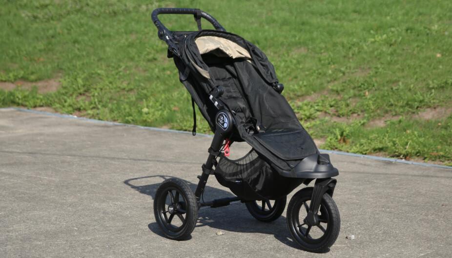 BABY JOGGER CITY ELITE: Her har produsenten laget en vogn som fungerer godt for familier som er på farten.