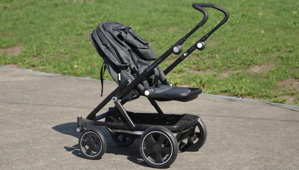 BRITAX GO BIG 2: Dette er vognen for deg som vil ha en stor og trygg vogn med god plass.