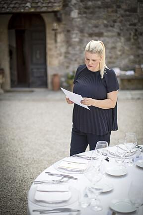 Camilla Møller jobber som  bryllupsplanlegger i Roma.
