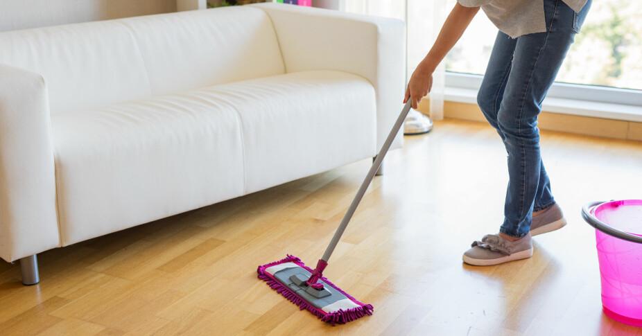 STUEN FØRST: For å ende opp med best mulig resultat, er det smart å starte med det reneste rommet i boligen.