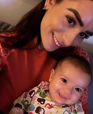 KRISEMAKSIMERTE: Jamina hadde trodd den første tiden med baby skulle bli enda tøffere enn den har vært.
