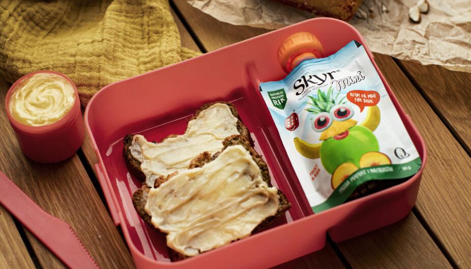 ENKEL BAKST: Kanskje blir dette bananbrødet barnas nye favoritt i matpakken?