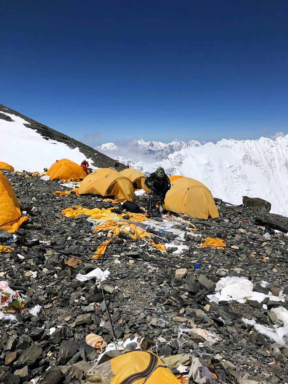 вас эверест помойка фото отличают усложнённая