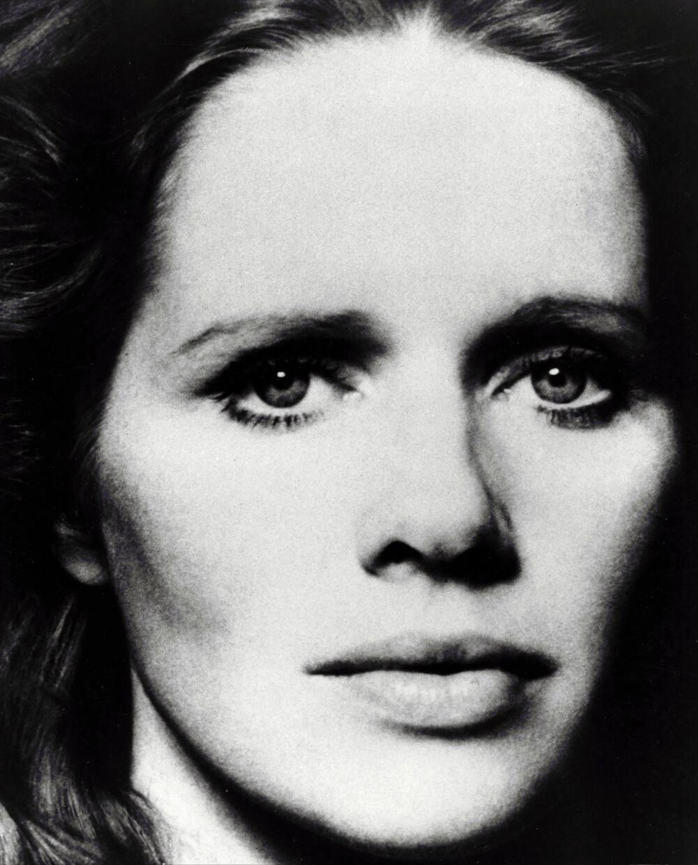 <b>ÉN GANG SKJØNNHET ...:</b> Her er Liv fotografert <br/>i 1970. 49 år senere er hun fremdeles like slående vakker.