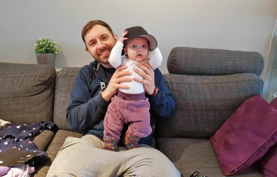 <b>PÅ PAPPAS FANG:</b> Pål-André og Tonje har fått hjelp fra familevernet til å snakke bedre sammen som kjærester og som foreldre.