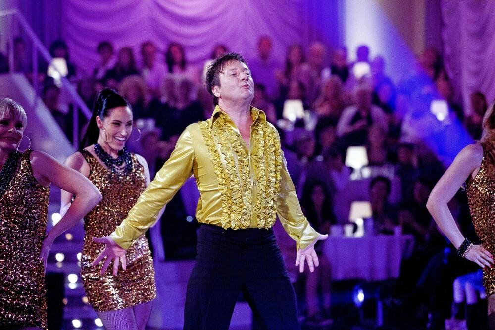 <b>BYR PÅ <BR/>SEG SELV:</b> <br/>Svein er kjent for å gå «all in» uansett hva han er med på. Mange husker nok innsatsen hans på parketten da han var med i «Skal vi danse» i 2009.