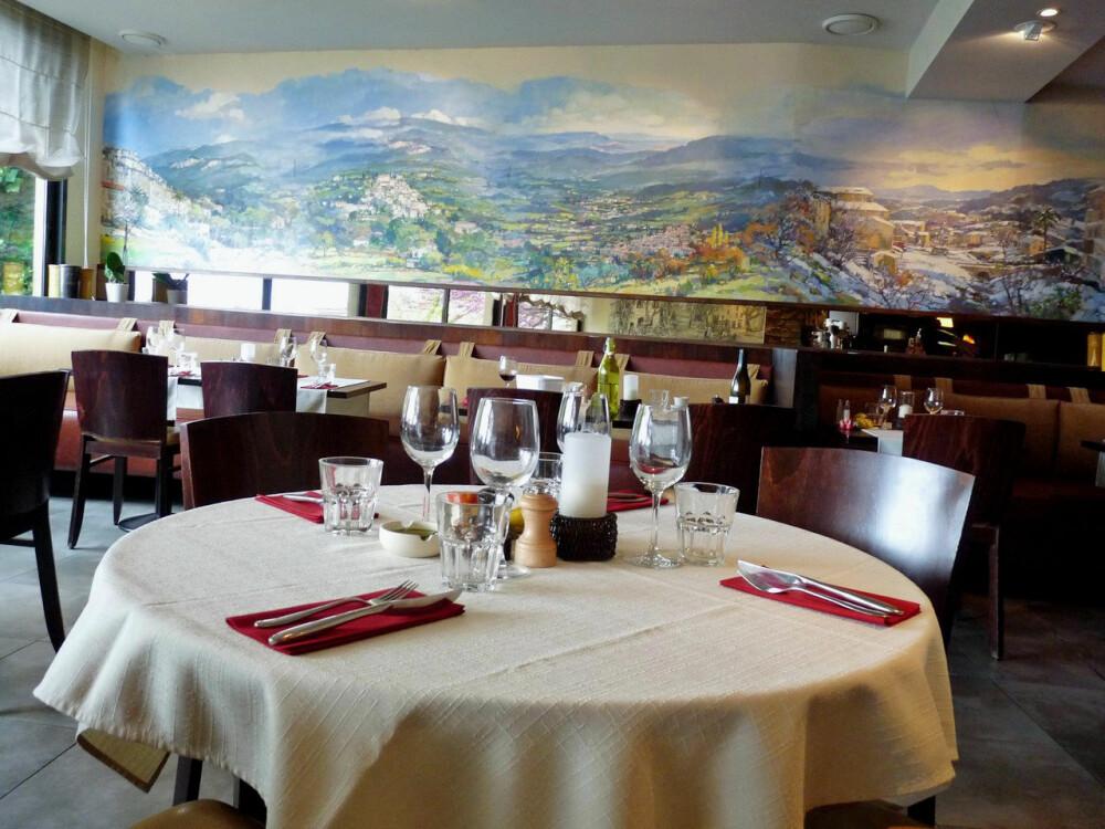 <b>GOD MAT:</b> Restauranten La Gloire de mon Pere i Seillans.