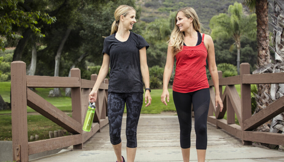 TRENINGSTUR: Vil du bruke gåturen som trening, fins det mange gode tips for maksimalt utbytte.