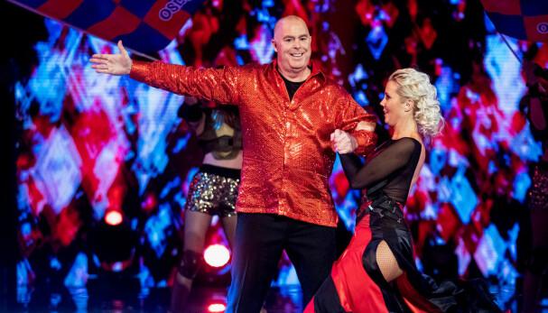 STORT VEKTTAP: Jan Tore Kjær gikk ned mange kilo før «Skal vi danse»-premieren. – Jeg har endret livsstilen, men da jeg ble syk etter flåttbitt, fikk jeg skikkelig drahjelp, sier han.