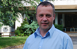 Arne Hoseth, produktsjef i Glen Dimplex Norge.