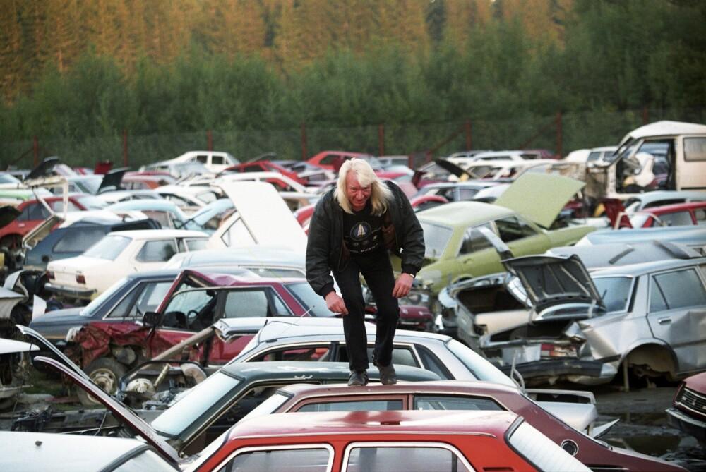 <b>VAREMERKET:</b> Arnulf «Høggern» Paulsen drev Vazelina bilopphøggeri helt frem til 2014.
