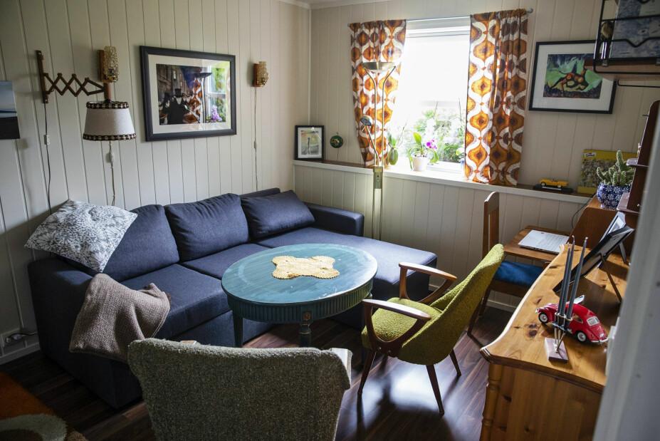 <b>ROMMET HANS:</b> I barndomshjemmet er Siverts rom beholdt slik det var. På skrivebordet står pc-en hans.