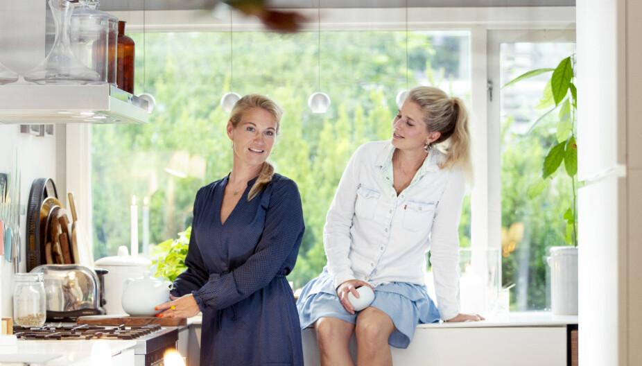 Slitesterkt vennskap:  Camilla Skurdal Lindberg og Mette Krogstad-Havnes synes det er viktig å kunne prate om den vanskelige tiden da de var uvenner.