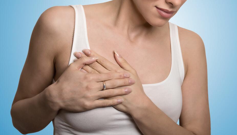 BRYSTKREFT: Brystkreft er den hyppigste kreftformen hos kvinner og i dag lever det rundt 48 000 personer i Norge som har eller har hatt brystkreft.