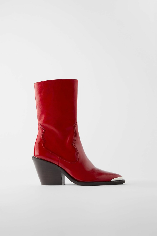 Cowboyinspirerte boots fra Zara, kr 1295.