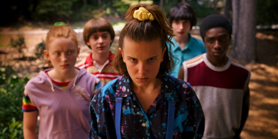 De unge skuespillerne gjør en fantastisk prestasjon i Stranger Things.