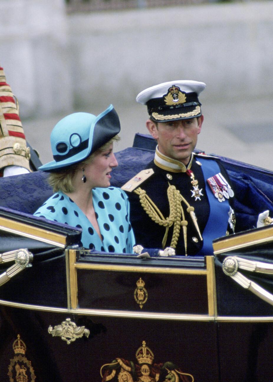 I bryllup til prins Andrew og Sarah Ferguson i 1986