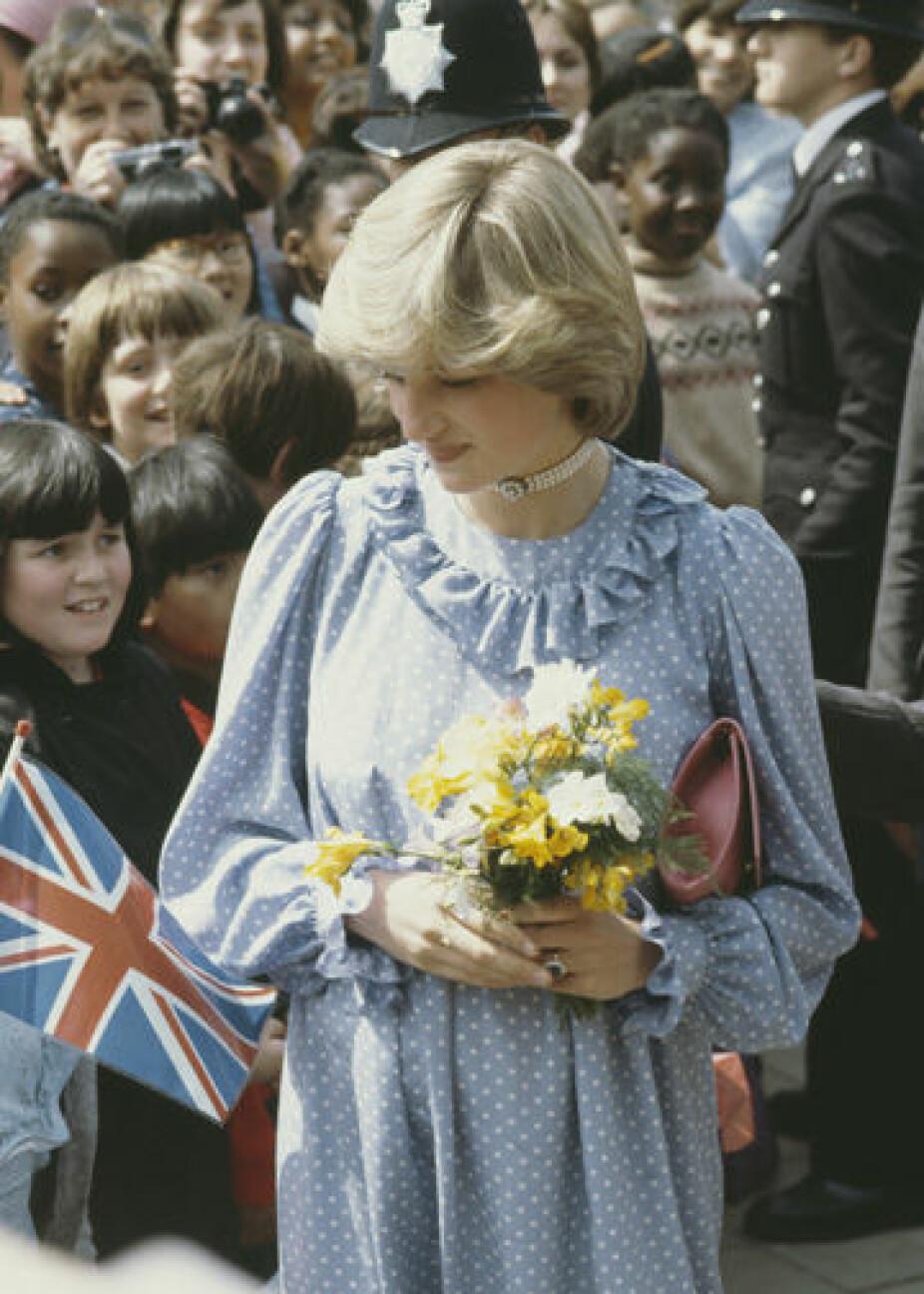 Gravid med William i 1982