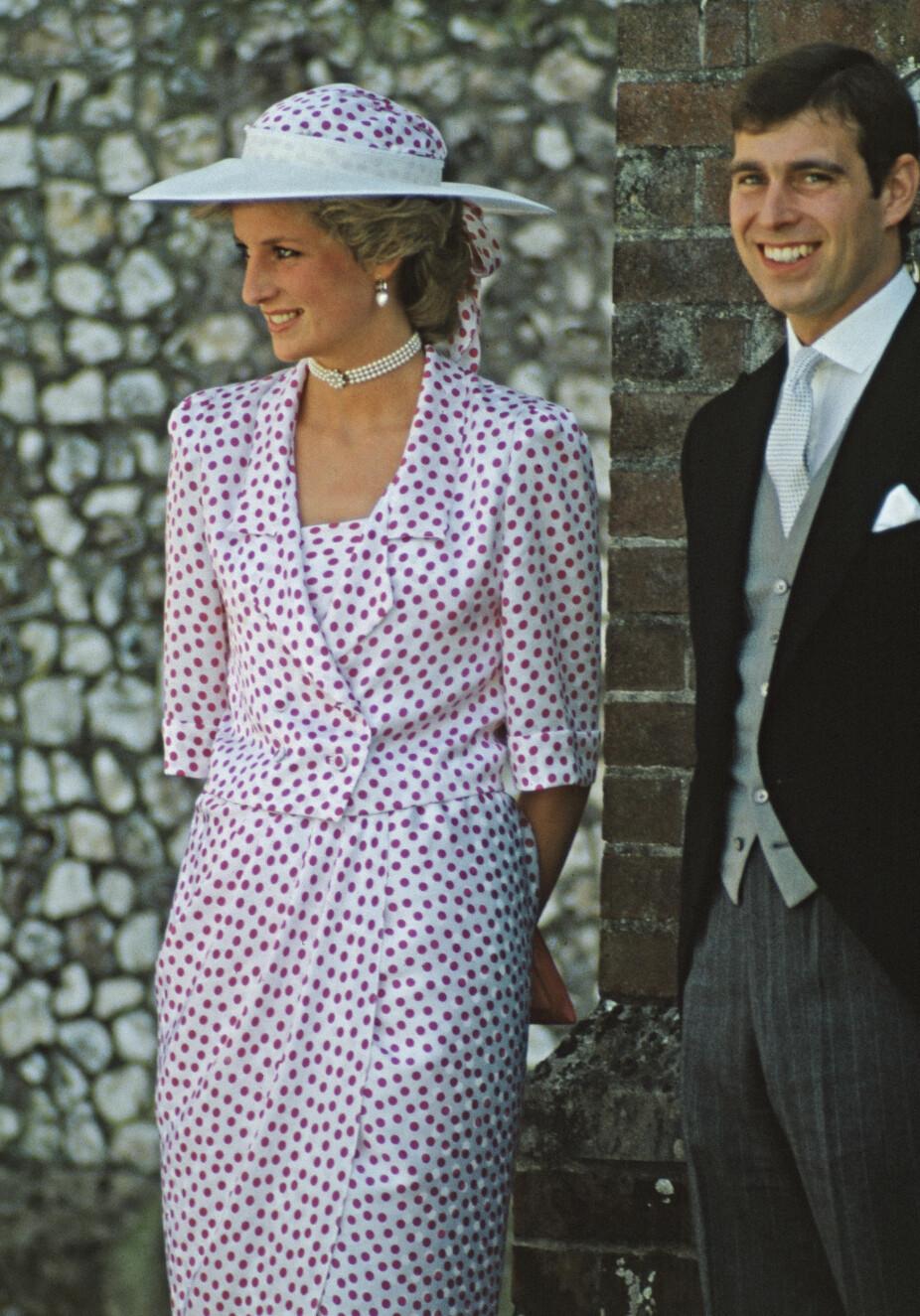 Bryllup i Hampshire i 1985