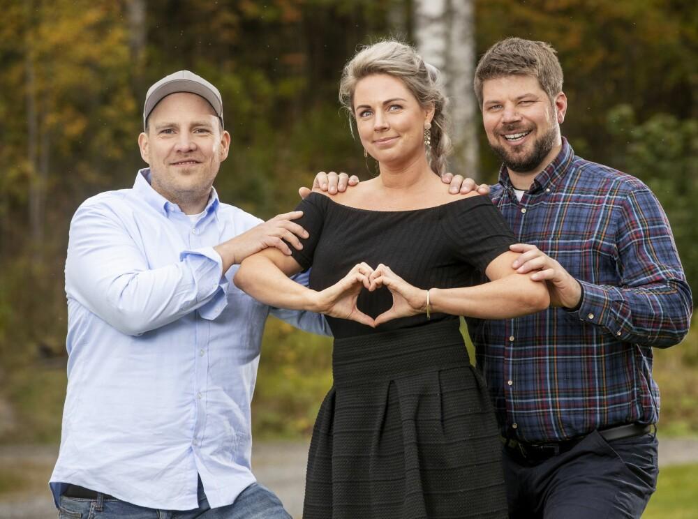 <b>ALLE GODE TING ER TRE:</b> Sammen med Vegar Valbø og Sondre Stubrud, skal Else prøve å finne kjærligheten på TV. Trioen har tidligere vært med i «Jakten på kjærligheten».