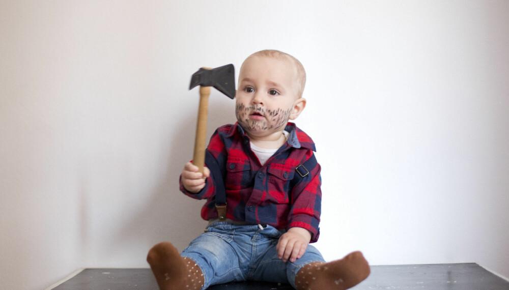 En liten tømmerhugger