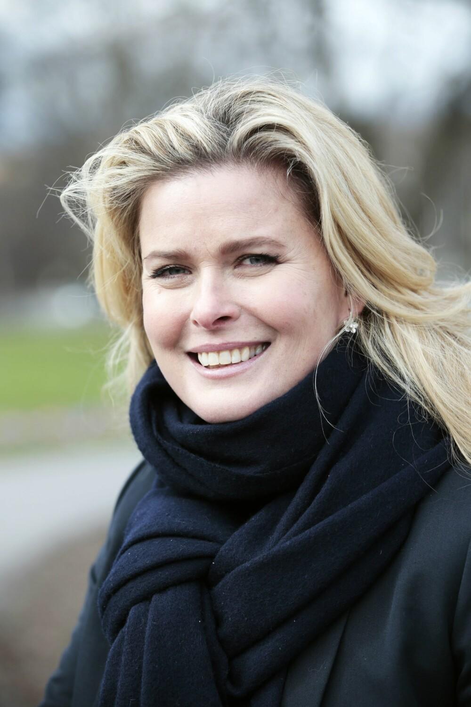 <b>TØFF:</b> Den tidligere supermodellen Vendela Kirsebom avslører at filmstjerne og spion, Sonja Wigert var morens kusine.Foto: Scanpix