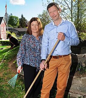 <b>GODT TEAM:</b> Nina og Morten føler endelig at livet har normalisert seg igjen.