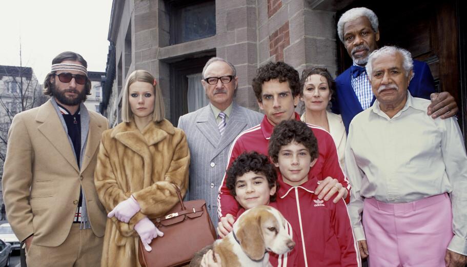 "ORIGINALEN: Luke Wilson og Gwyneth Paltrow spiller i filmen ""The Royal Tenenbaums"" fra 2001."