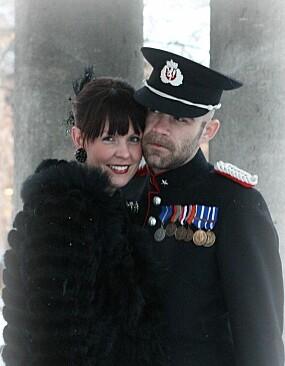 MINNERIK DAG: Caroline og Stig fra bryllupet i 2010